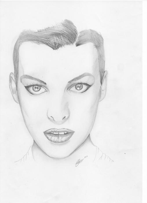 Milla Jovovich by paddy852